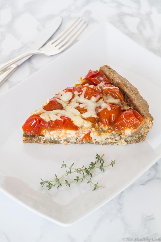 Whole-Wheat-Cherry-Tomato-Tart – Τάρτα-Ολικής-με-Τοματίνια