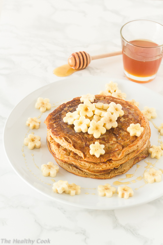 Vegan-Banana-Pancakes – Τηγανίτες-Μπανάνας