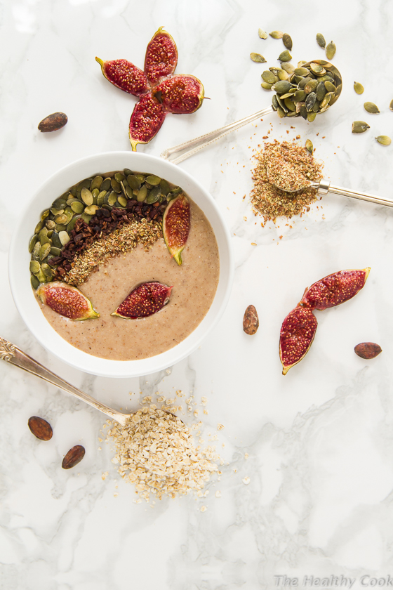 Vegan-Roasted-Fig-Smoothie-Bowl – Smoothie-Bowl-με-Ψητά-Σύκα