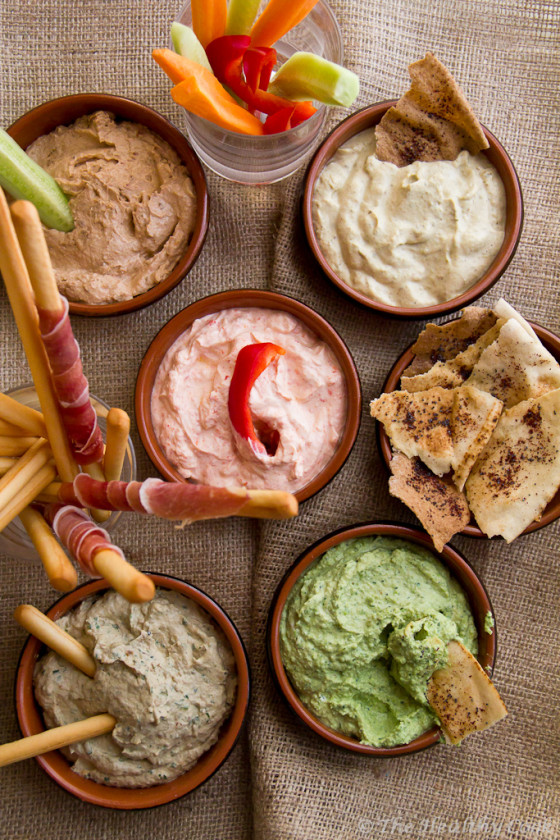 5 Healthy Yogurt Dips – 5 Υγιεινά Ντιπς Γιαουρτιού