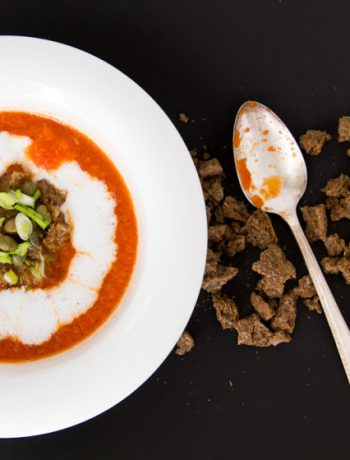 Spicy Tomato Soup with Buttermilk – Πικάντικη Τοματόσουπα με Ξυνόγαλα
