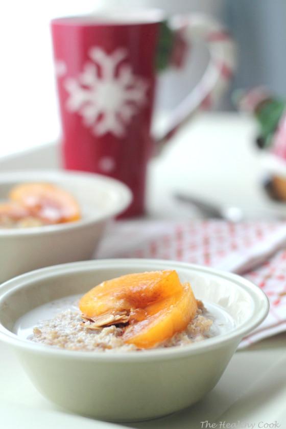 Persimmon & Quinoa Breakfast – Πρωινό με Λωτό και Κινόα
