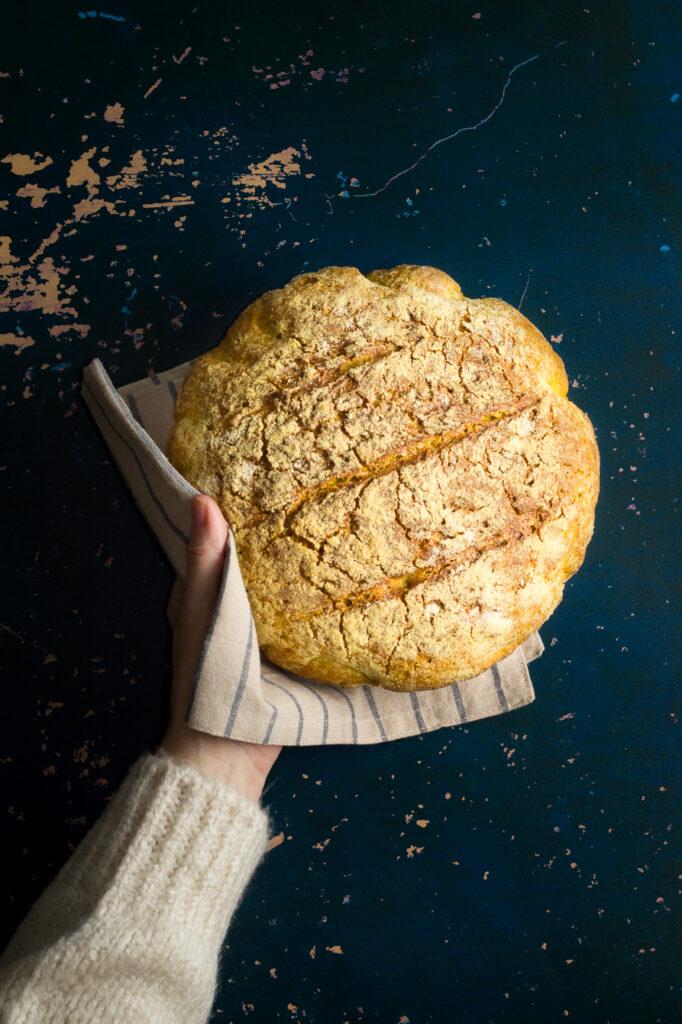 Turmeric & Cardamom Bread