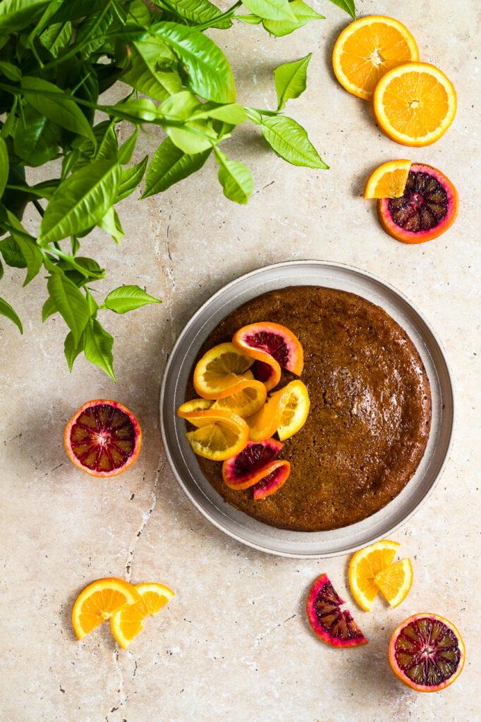 Κέικ Πορτοκαλιού με Αλεύρι από Κεχρί (GF) - Orange Millet Cake (GF)