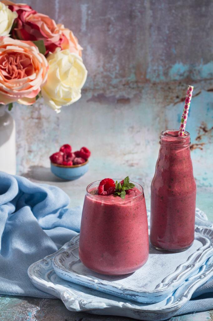 Smoothie με Παντζάρι και Σμέουρα - Beet and Raspberries Smoothie